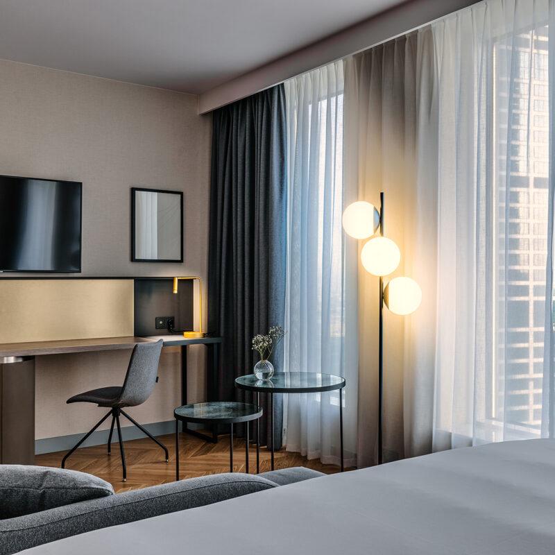 Pokój premium z łóżkiem typu queen